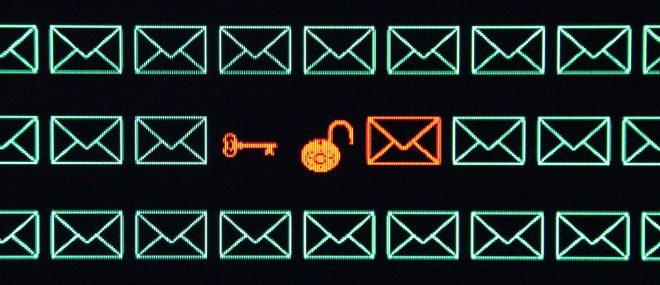 cryptage des emails
