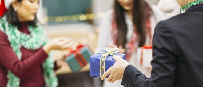 échange de cadeaux